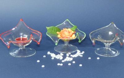 Glas Schale